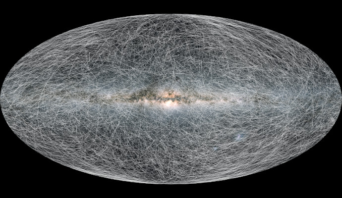 Stellar tracks of nearby stars in the next 400,000 years