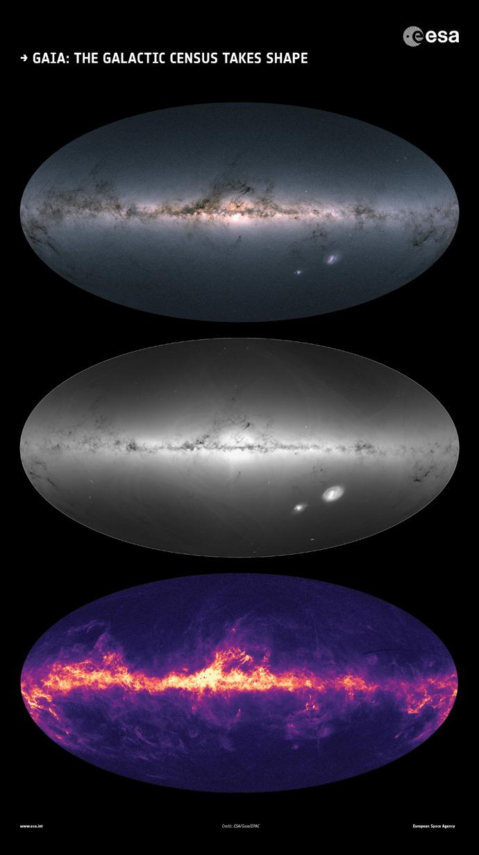 Gaia's sky DR2 maps